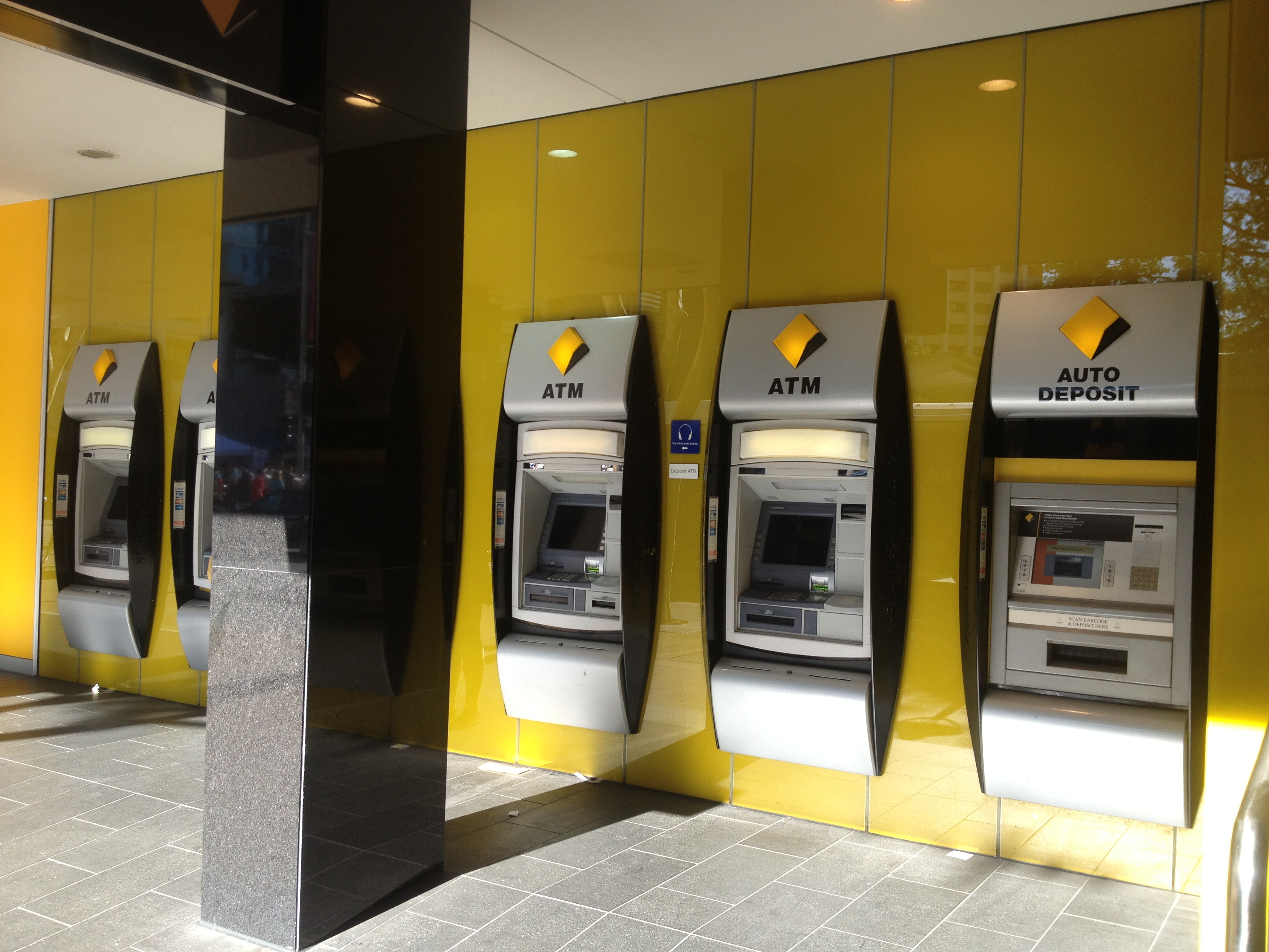 Commonwealth Bank creates cash withdrawals using a smartphone app #timsabre